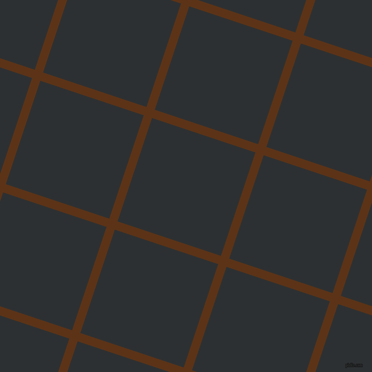 72/162 degree angle diagonal checkered chequered lines, 18 pixel lines width, 225 pixel square size, Baker