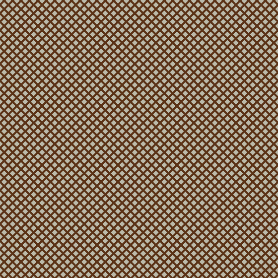 45/135 degree angle diagonal checkered chequered lines, 4 pixel line width, 8 pixel square sizeBaker's Chocolate and Mist Grey plaid checkered seamless tileable
