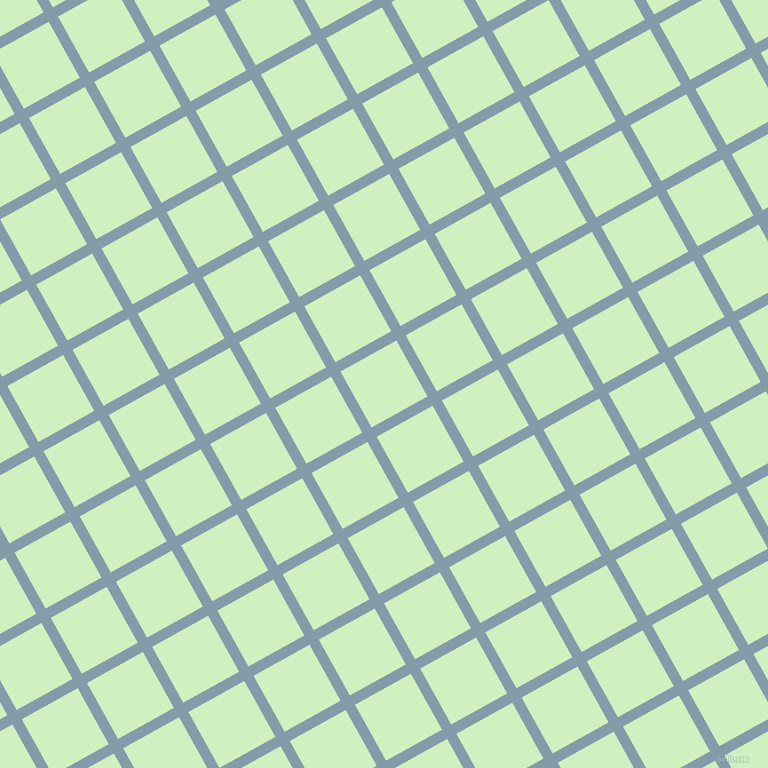 29/119 degree angle diagonal checkered chequered lines, 12 pixel lines width, 72 pixel square size, Bali Hai and Tea Green plaid checkered seamless tileable