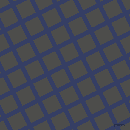 27/117 degree angle diagonal checkered chequered lines, 15 pixel line width, 50 pixel square size, Bay Of Many and Thunder plaid checkered seamless tileable
