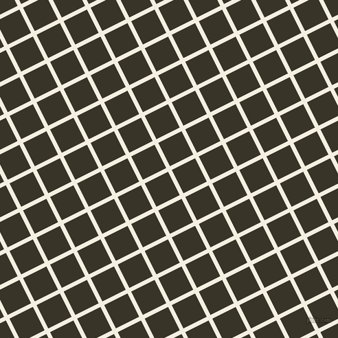 27/117 degree angle diagonal checkered chequered lines, 6 pixel line width, 38 pixel square size, Bianca and Graphite plaid checkered seamless tileable