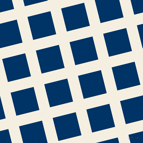 14/104 degree angle diagonal checkered chequered lines, 37 pixel lines width, 80 pixel square sizeBianca and Prussian Blue plaid checkered seamless tileable
