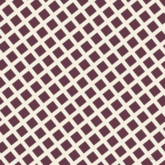 39/129 degree angle diagonal checkered chequered lines, 13 pixel line width, 28 pixel square size, Bianca and Tawny Port plaid checkered seamless tileable