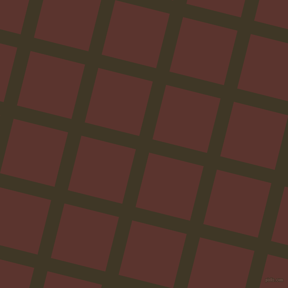 76/166 degree angle diagonal checkered chequered lines, 27 pixel lines width, 111 pixel square size, Birch and Redwood plaid checkered seamless tileable