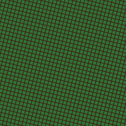76/166 degree angle diagonal checkered chequered lines, 3 pixel lines width, 10 pixel square size, Bistre and Japanese Laurel plaid checkered seamless tileable