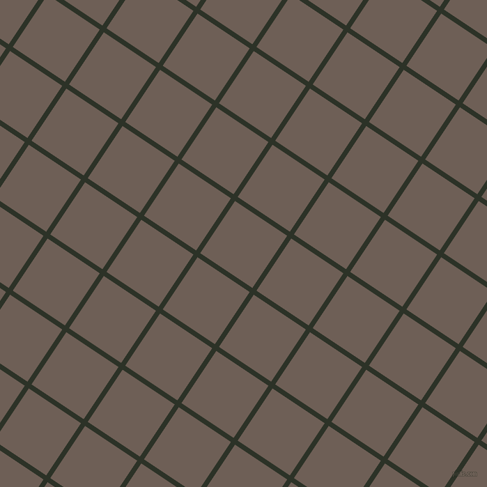 56/146 degree angle diagonal checkered chequered lines, 7 pixel lines width, 90 pixel square size, Black Forest and Dorado plaid checkered seamless tileable
