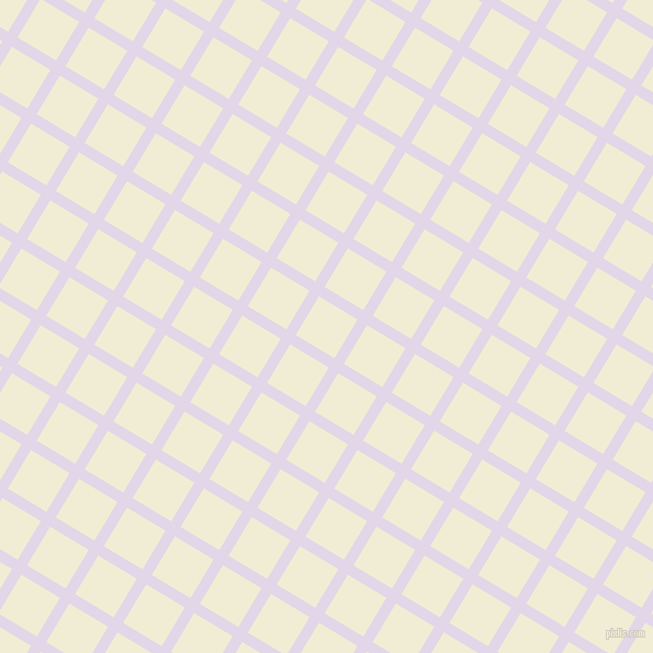 59/149 degree angle diagonal checkered chequered lines, 10 pixel line width, 41 pixel square size, Blue Chalk and Rum Swizzle plaid checkered seamless tileable