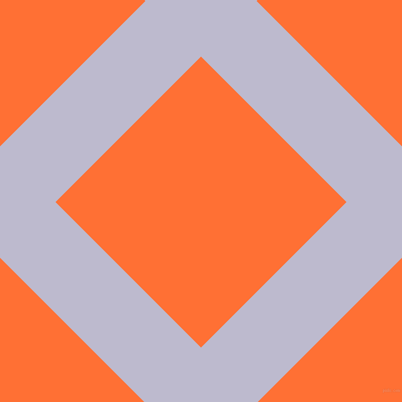 45/135 degree angle diagonal checkered chequered lines, 157 pixel line width, 411 pixel square size, Blue Haze and Burnt Orange plaid checkered seamless tileable