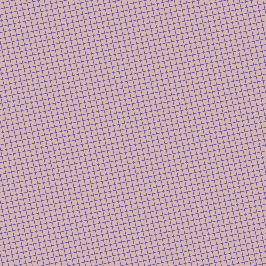 13/103 degree angle diagonal checkered chequered lines, 2 pixel line width, 17 pixel square size, Blue Marguerite and Oyster Pink plaid checkered seamless tileable