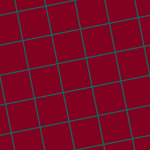 11/101 degree angle diagonal checkered chequered lines, 5 pixel lines width, 118 pixel square size, Blue Stone and Burgundy plaid checkered seamless tileable