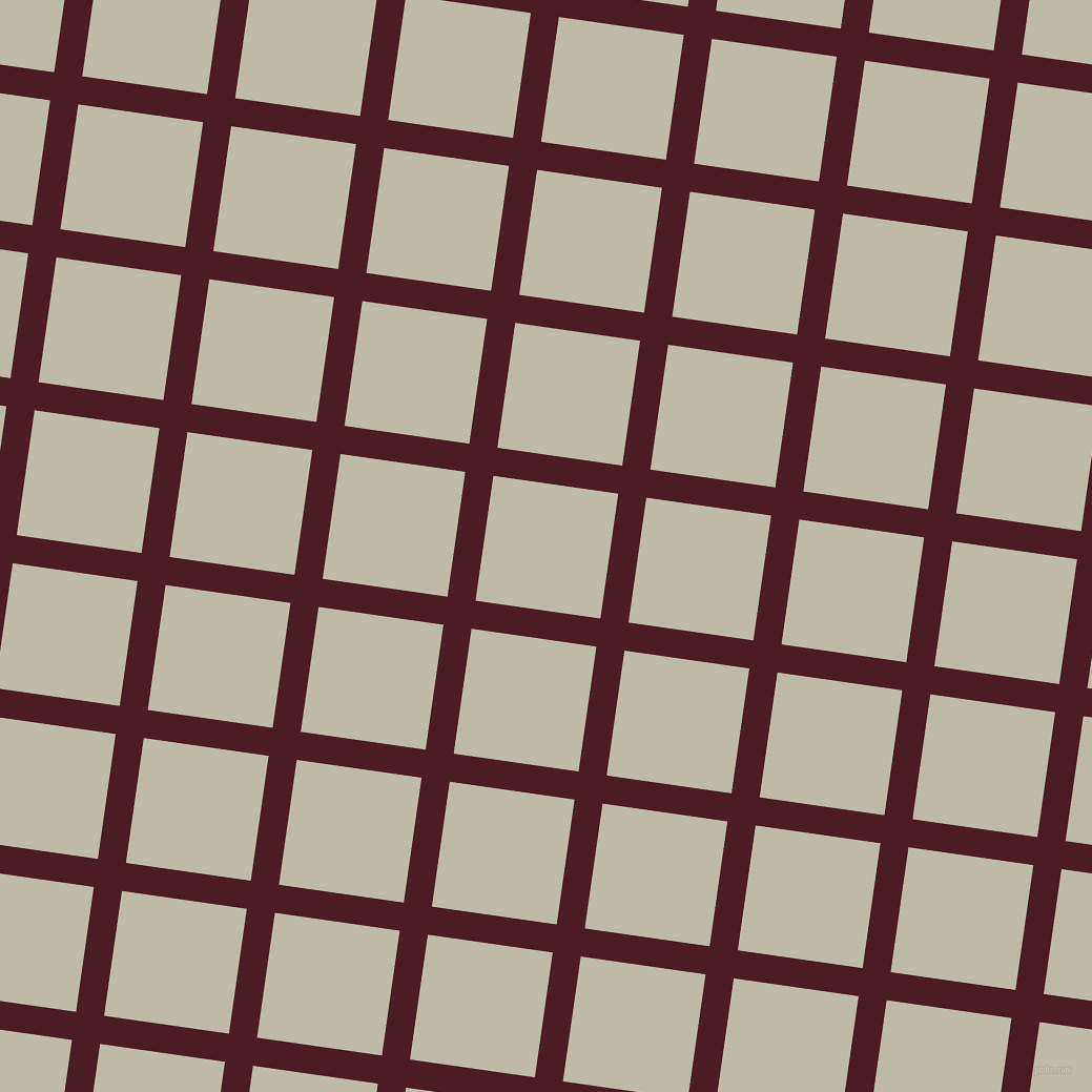 82/172 degree angle diagonal checkered chequered lines, 27 pixel line width, 120 pixel square size, Bordeaux and Ash plaid checkered seamless tileable