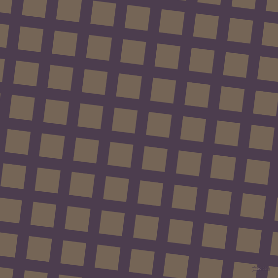 83/173 degree angle diagonal checkered chequered lines, 23 pixel line width, 47 pixel square size, Bossanova and Pine Cone plaid checkered seamless tileable
