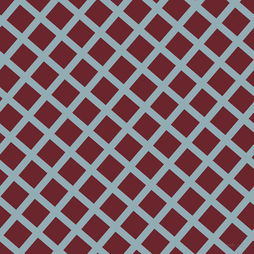 49/139 degree angle diagonal checkered chequered lines, 14 pixel line width, 41 pixel square size, Botticelli and Monarch plaid checkered seamless tileable