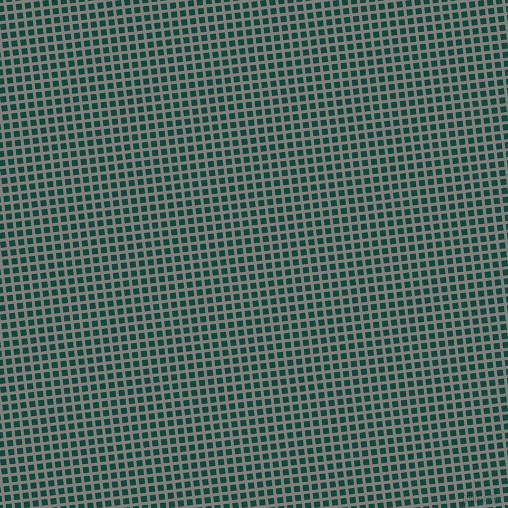 7/97 degree angle diagonal checkered chequered lines, 3 pixel lines width, 6 pixel square size, Boulder and Deep Teal plaid checkered seamless tileable
