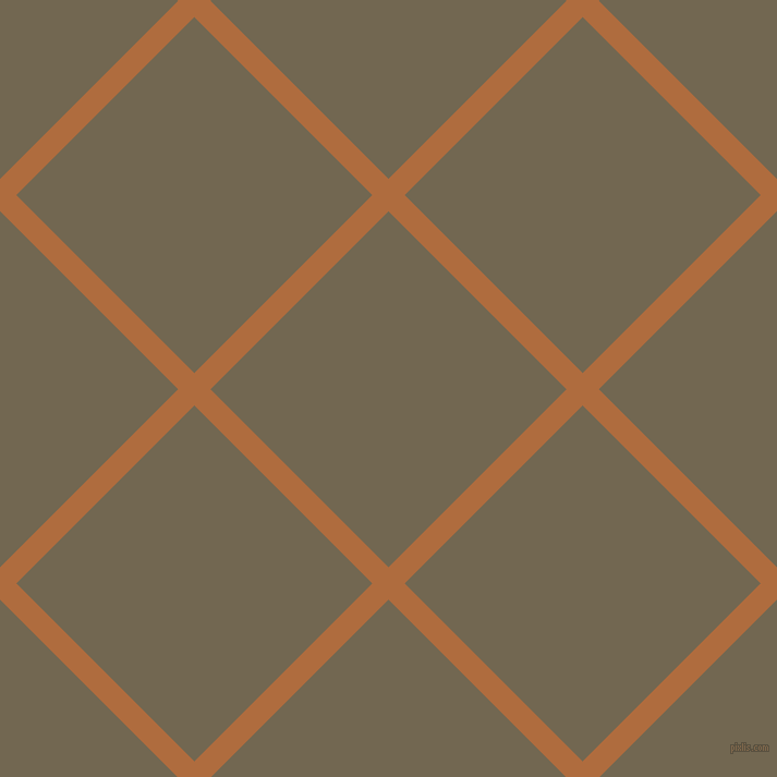 45/135 degree angle diagonal checkered chequered lines, 21 pixel line width, 231 pixel square size, Bourbon and Coffee plaid checkered seamless tileable