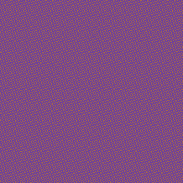 56/146 degree angle diagonal checkered chequered lines, 1 pixel line width, 5 pixel square size, Bourbon and Royal Purple plaid checkered seamless tileable