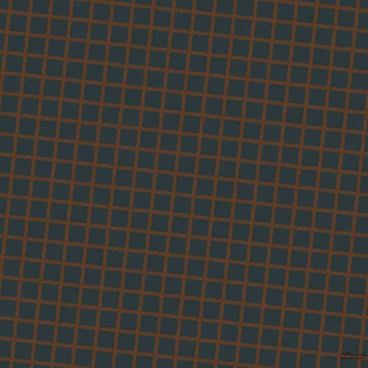 84/174 degree angle diagonal checkered chequered lines, 5 pixel lines width, 24 pixel square size, Bracken and Outer Space plaid checkered seamless tileable