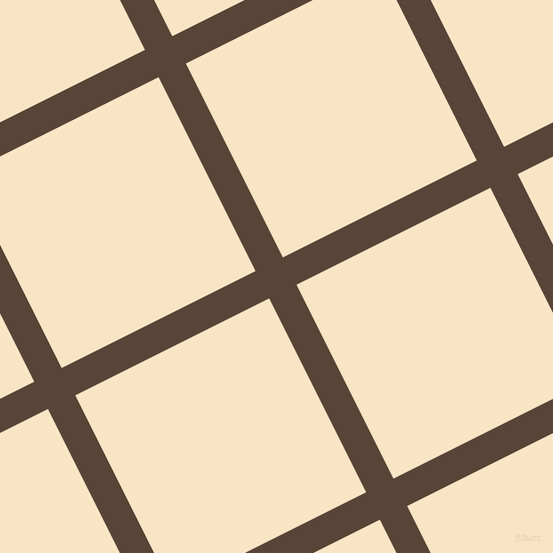 27/117 degree angle diagonal checkered chequered lines, 43 pixel lines width, 305 pixel square size, Brown Derby and Derby plaid checkered seamless tileable