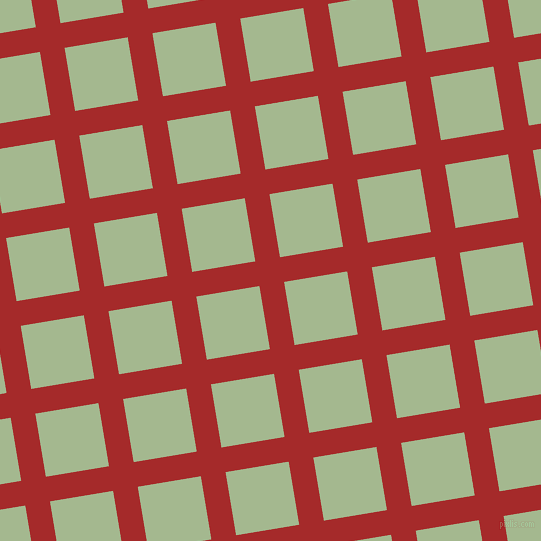9/99 degree angle diagonal checkered chequered lines, 25 pixel line width, 64 pixel square size, Brown and Norway plaid checkered seamless tileable