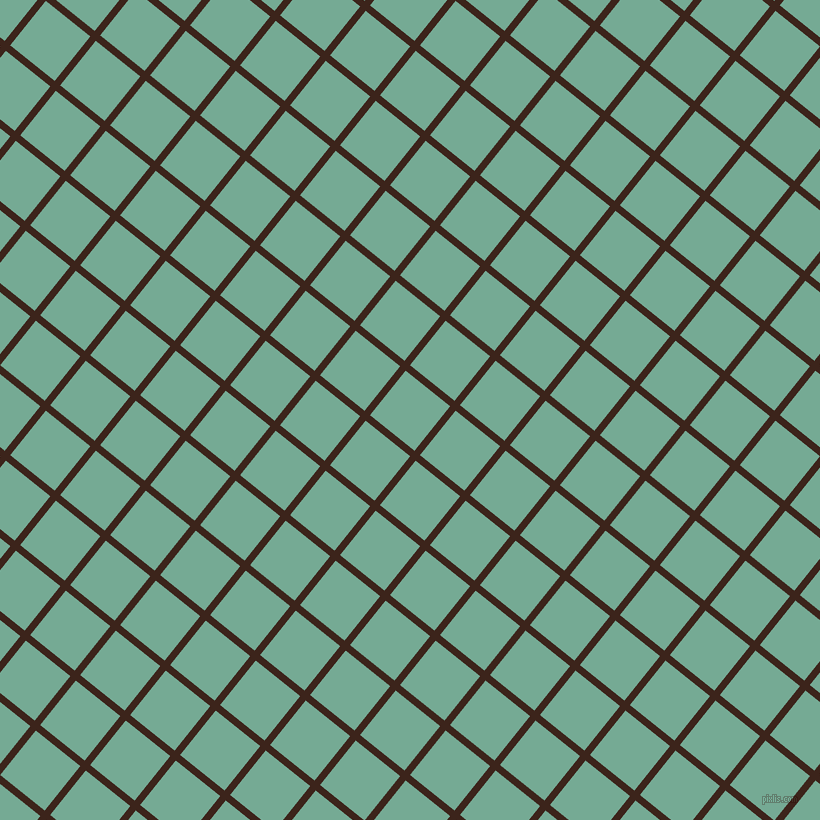 51/141 degree angle diagonal checkered chequered lines, 7 pixel lines width, 57 pixel square size, Brown Pod and Acapulco plaid checkered seamless tileable