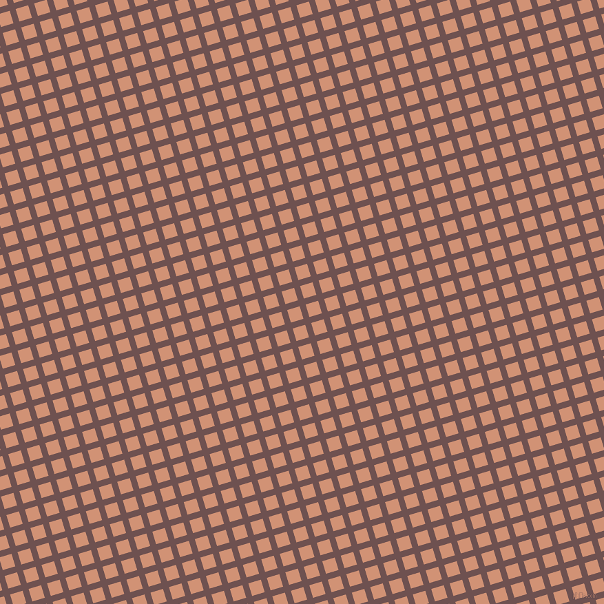 17/107 degree angle diagonal checkered chequered lines, 9 pixel line width, 19 pixel square size, Buccaneer and Feldspar plaid checkered seamless tileable