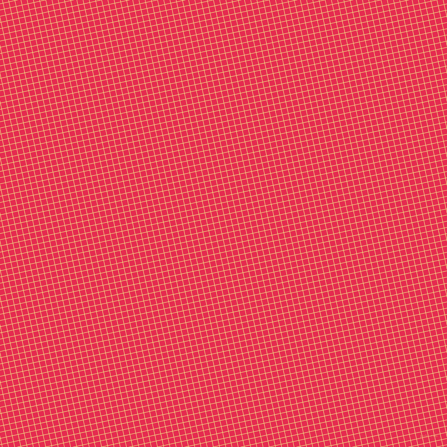 13/103 degree angle diagonal checkered chequered lines, 1 pixel lines width, 11 pixel square size, Buff and Amaranth plaid checkered seamless tileable