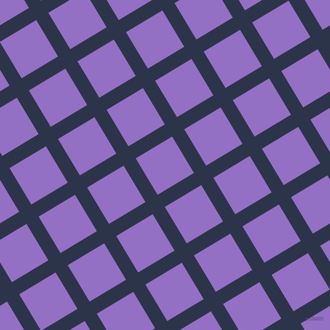 31/121 degree angle diagonal checkered chequered lines, 28 pixel line width, 84 pixel square size, Bunting and Lilac Bush plaid checkered seamless tileable