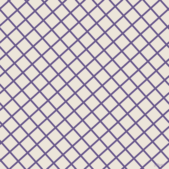 42/132 degree angle diagonal checkered chequered lines, 6 pixel line width, 37 pixel square size, Butterfly Bush and Soapstone plaid checkered seamless tileable