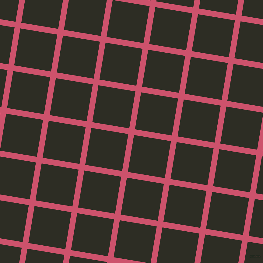 81/171 degree angle diagonal checkered chequered lines, 19 pixel lines width, 123 pixel square size, Cabaret and Karaka plaid checkered seamless tileable