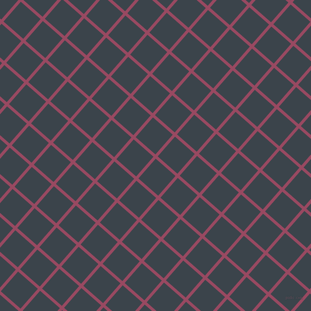 49/139 degree angle diagonal checkered chequered lines, 6 pixel lines width, 53 pixel square size, Cadillac and Arsenic plaid checkered seamless tileable