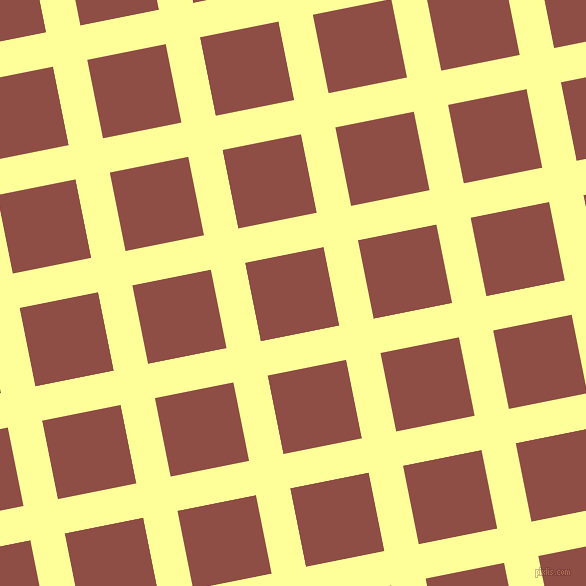 11/101 degree angle diagonal checkered chequered lines, 35 pixel line width, 80 pixel square sizeCanary and El Salva plaid checkered seamless tileable