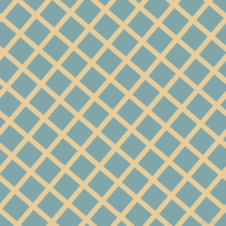 49/139 degree angle diagonal checkered chequered lines, 10 pixel lines width, 39 pixel square size, Chamois and Ziggurat plaid checkered seamless tileable