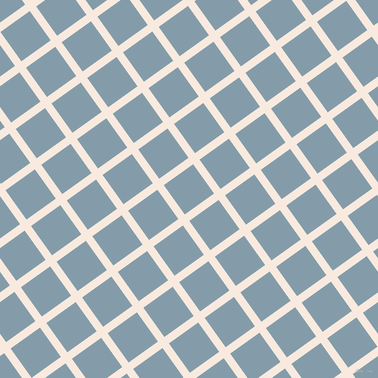36/126 degree angle diagonal checkered chequered lines, 16 pixel lines width, 73 pixel square size, Chardon and Bali Hai plaid checkered seamless tileable