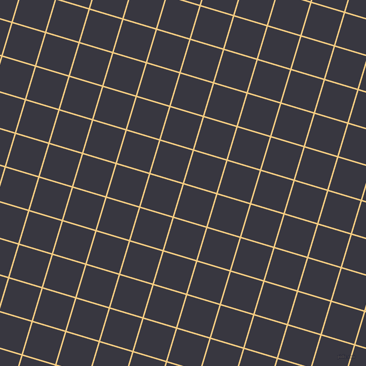 73/163 degree angle diagonal checkered chequered lines, 3 pixel lines width, 68 pixel square size, Cherokee and Black Marlin plaid checkered seamless tileable