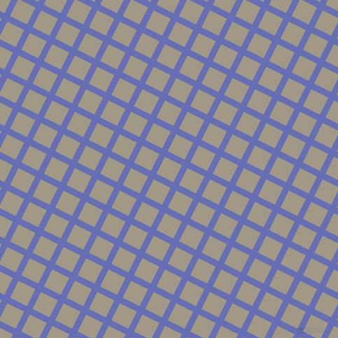 63/153 degree angle diagonal checkered chequered lines, 9 pixel lines width, 27 pixel square size, Chetwode Blue and Nomad plaid checkered seamless tileable