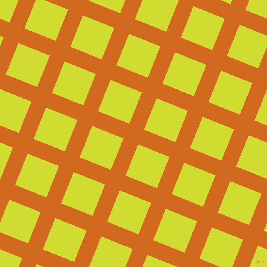 68/158 degree angle diagonal checkered chequered lines, 54 pixel lines width, 115 pixel square size, Chocolate and Bitter Lemon plaid checkered seamless tileable