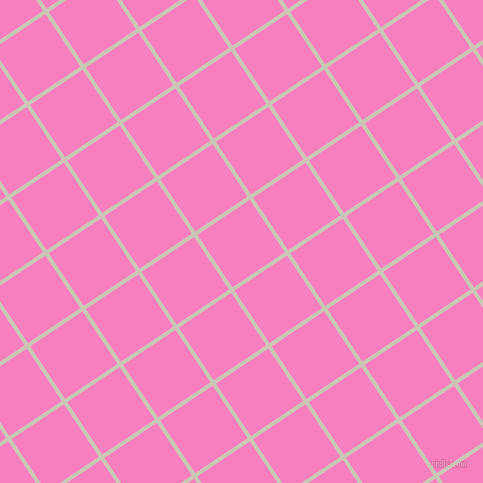 34/124 degree angle diagonal checkered chequered lines, 4 pixel line width, 63 pixel square size, Chrome White and Persian Pink plaid checkered seamless tileable