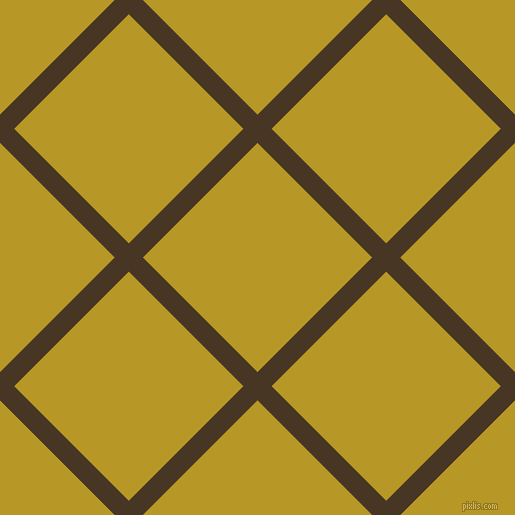 45/135 degree angle diagonal checkered chequered lines, 20 pixel lines width, 162 pixel square size, Clinker and Sahara plaid checkered seamless tileable
