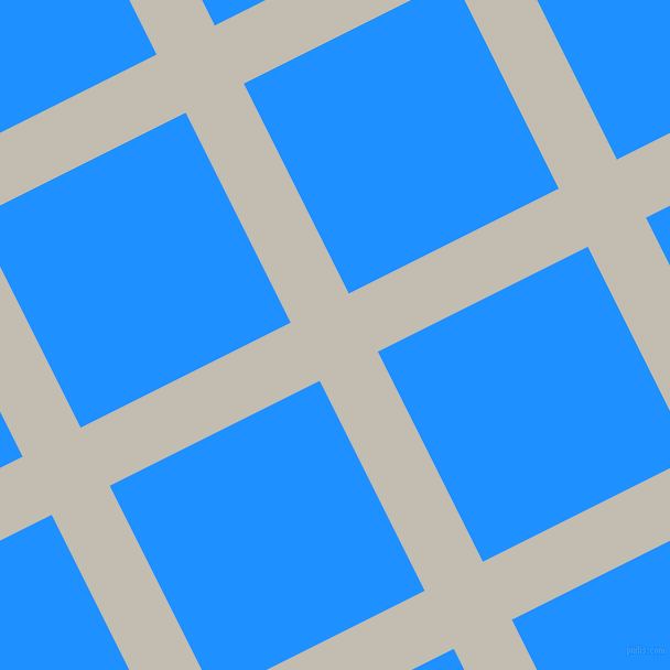 27/117 degree angle diagonal checkered chequered lines, 59 pixel lines width, 213 pixel square size, Cloud and Dodger Blue plaid checkered seamless tileable