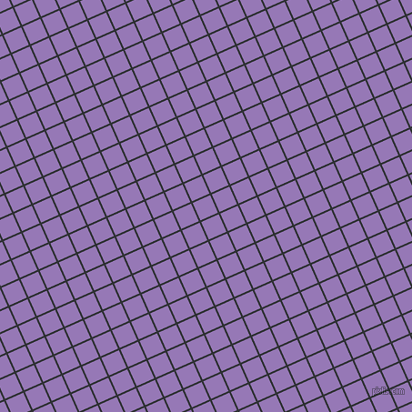 24/114 degree angle diagonal checkered chequered lines, 2 pixel line width, 21 pixel square size, Cod Grey and Purple Mountain
