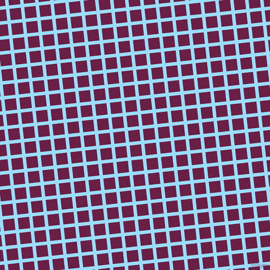 6/96 degree angle diagonal checkered chequered lines, 7 pixel line width, 23 pixel square sizeColumbia Blue and Pompadour plaid checkered seamless tileable