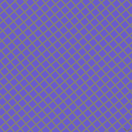 41/131 degree angle diagonal checkered chequered lines, 5 pixel lines width, 20 pixel square size, Concord and Slate Blue plaid checkered seamless tileable