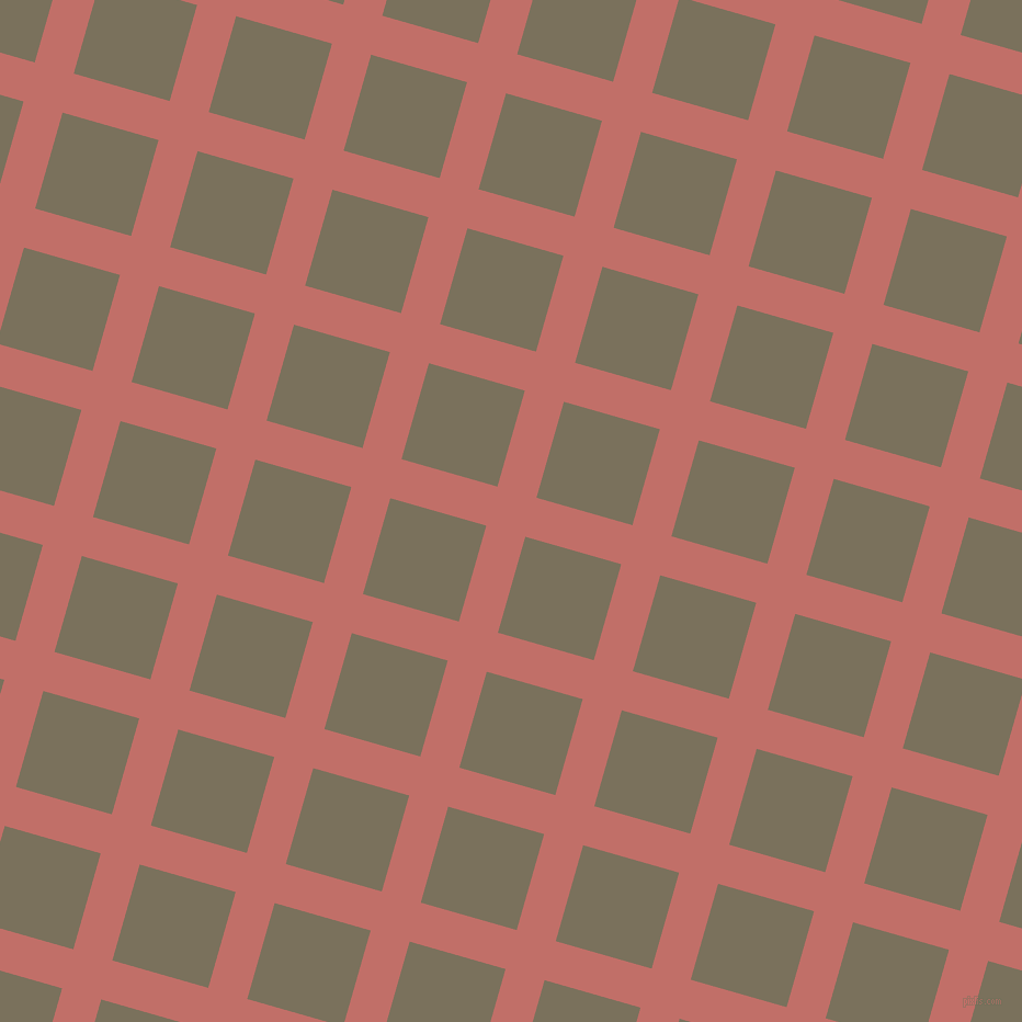 74/164 degree angle diagonal checkered chequered lines, 37 pixel line width, 91 pixel square size, Contessa and Pablo plaid checkered seamless tileable