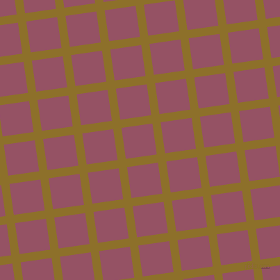 8/98 degree angle diagonal checkered chequered lines, 12 pixel line width, 45 pixel square size, Corn Harvest and Vin Rouge plaid checkered seamless tileable
