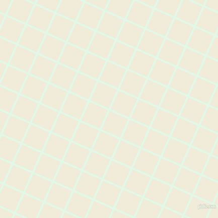 66/156 degree angle diagonal checkered chequered lines, 4 pixel lines width, 40 pixel square size, Cosmic Latte and Buttery White plaid checkered seamless tileable