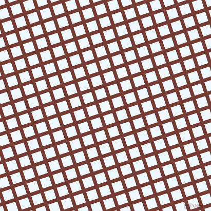 18/108 degree angle diagonal checkered chequered lines, 7 pixel line width, 19 pixel square size, Crown Of Thorns and Alice Blue plaid checkered seamless tileable