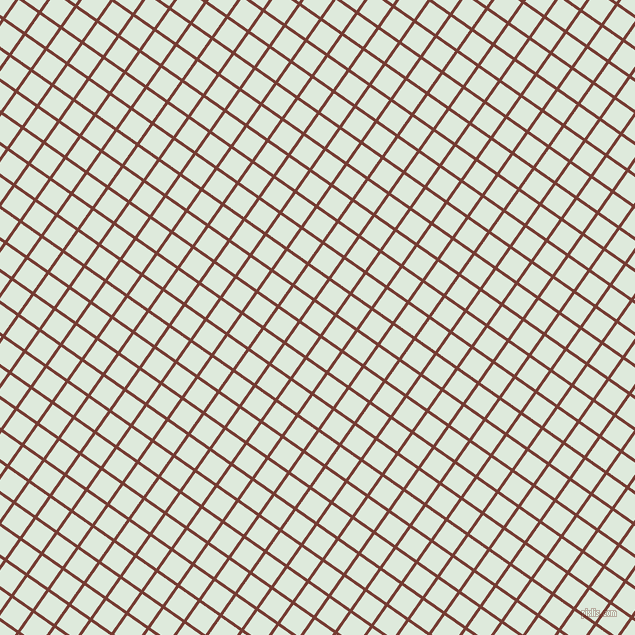 55/145 degree angle diagonal checkered chequered lines, 3 pixel lines width, 23 pixel square size, Crown Of Thorns and Apple Green plaid checkered seamless tileable