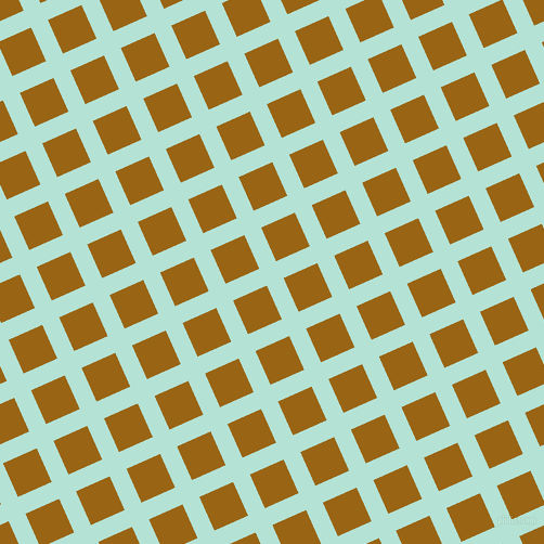24/114 degree angle diagonal checkered chequered lines, 17 pixel lines width, 34 pixel square size, Cruise and Golden Brown plaid checkered seamless tileable