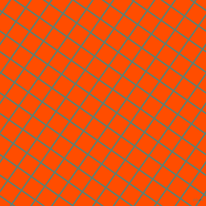 55/145 degree angle diagonal checkered chequered lines, 5 pixel lines width, 53 pixel square size, Cutty Sark and Vermilion plaid checkered seamless tileable