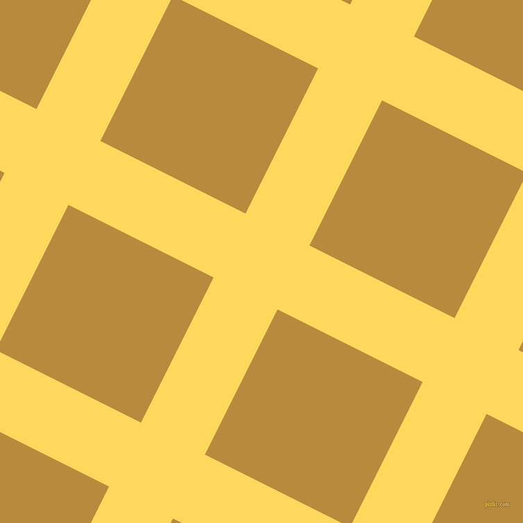 63/153 degree angle diagonal checkered chequered lines, 103 pixel line width, 234 pixel square size, Dandelion and Marigold plaid checkered seamless tileable